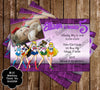 Sailor Moon Scouts Birthday Ticket Invitation (3)