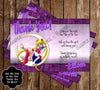 Sailor Moon Birthday Invitation