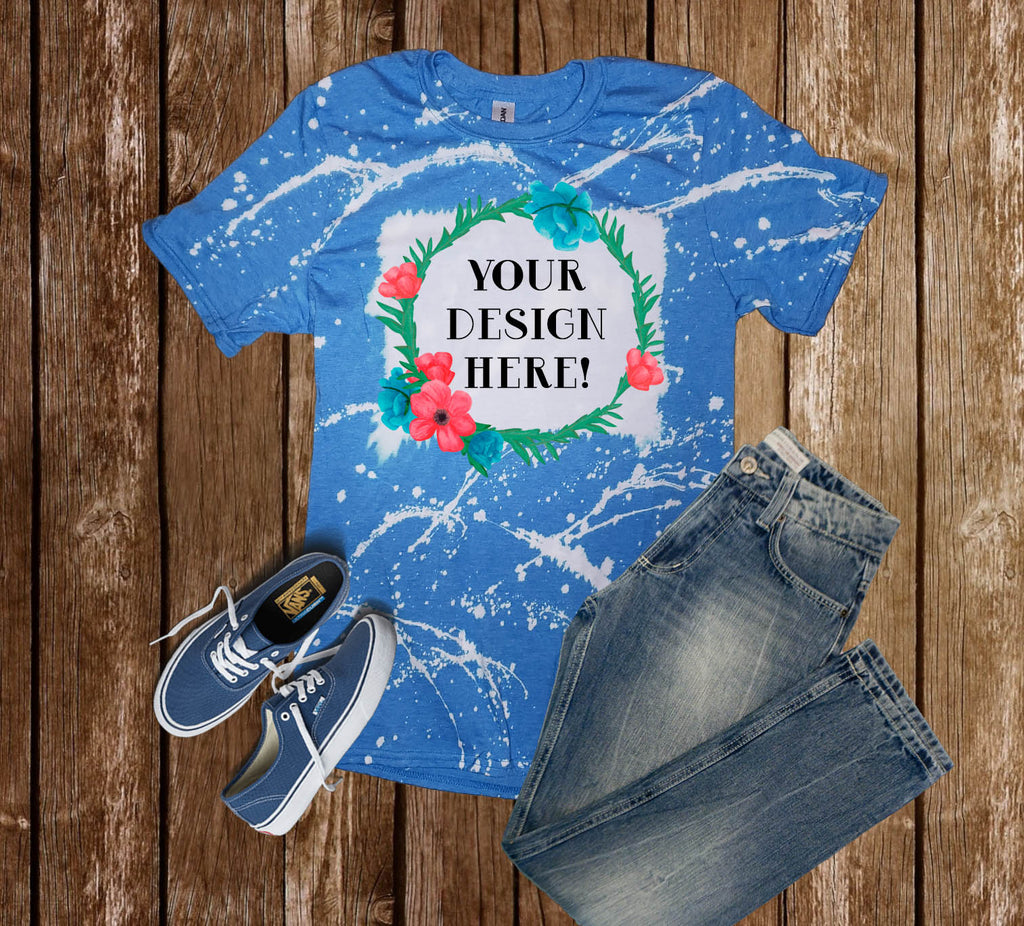 Custom - T-Shirt - Distressed Color - Shirt