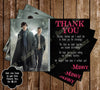 Sherlock Holmes Show Birthday Thank You Card (BBC)
