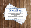 Shower by Mail - Covid - Boy - Baby Shower - Party - Thank You