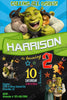 Shrek - Movies - Birthday Party - Invitation