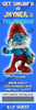Smurfs Birthday Party Ticket Invitation