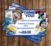 Smurfs - Lost Village - Birthday Party Invitation