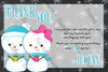 Oh What Fun - Winter Wonderland - Birthday Party Ticket Invitation