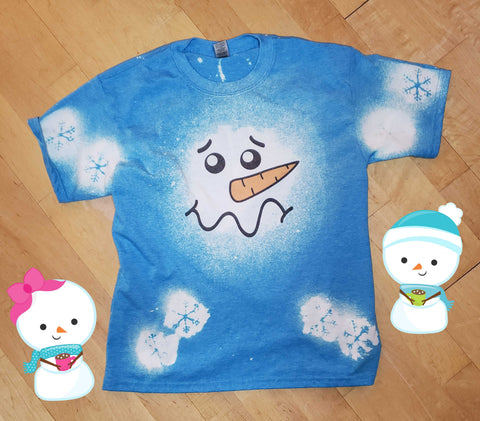 Melted Snowman - Holiday - T-Shirt