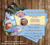 Disney Sofia The First Birthday Invitation (Swing)