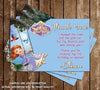 Disney - Princess Sofia The First - Mermaid - Birthday Invitation