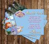 Disney - Princess Sofia The First - Purple - Birthday Invitation
