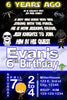 Star Wars - Little Jedi -  Birthday Party Invitation Printable