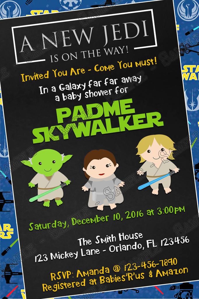 Captivating A New Jedi   Star Wars   Baby Shower   Diaper Raffle Tickets