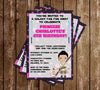 Star Wars - Rey - Birthday Party - Invitation