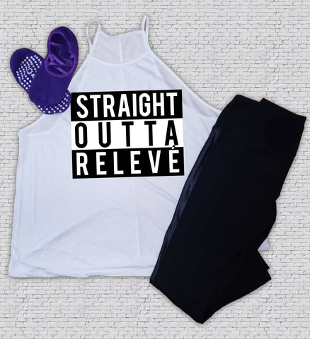 Straight Outta Relevé - Barre - Workout - Shirt