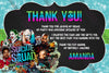 Suicide Squad - The Movie - Birthday Ticket Invitation