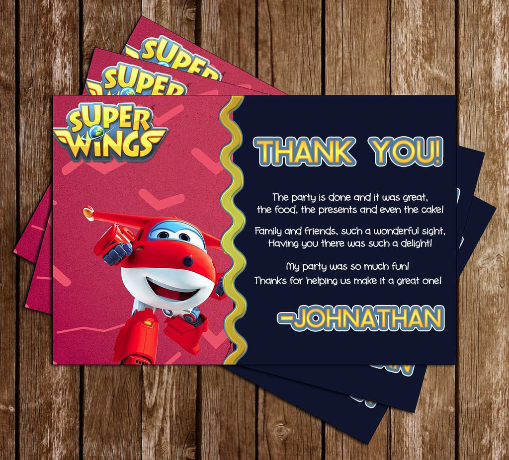 Novel Concept Designs Super Wings Sprout Birthday Party – Sprout Birthday Cards