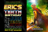 Thor - Ragnarok Movie - Birthday Party - Invitation