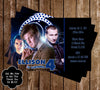 Doctor Who Birthday Invitation w/Photo PRD