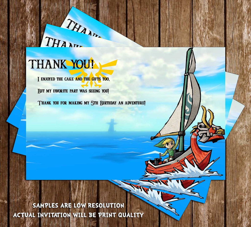 Novel concept designs legend of zelda thank you card legend of zelda thank you card stopboris Choice Image