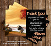 Kung Fu Panda Movie Bowing Thank You Card