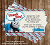 PBS Thomas The Train Show Thank You Card