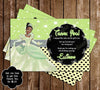 Disney Princess Tiana - The Princess and the Frog - Birthday Invitation