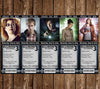 Doctor Who Ticket Birthday Invitations (5 Designs+) PRD