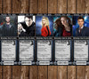 Doctor Who Ticket Birthday Invitations (5 Designs) PRD