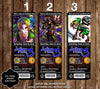 The Legend of Zelda: Majora's Mask Game Birthday Party Ticket Invitations