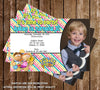 Tickety Toc Show Birthday Party Invitation with Photo