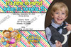 Tickety Toc Birthday Party Invitation