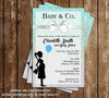 Tiffany & Co - TIffany's - Gender Neutral - Baby Shower Invitations