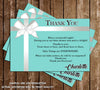 Tiffany & Co - Baby Shower Thank You Cards