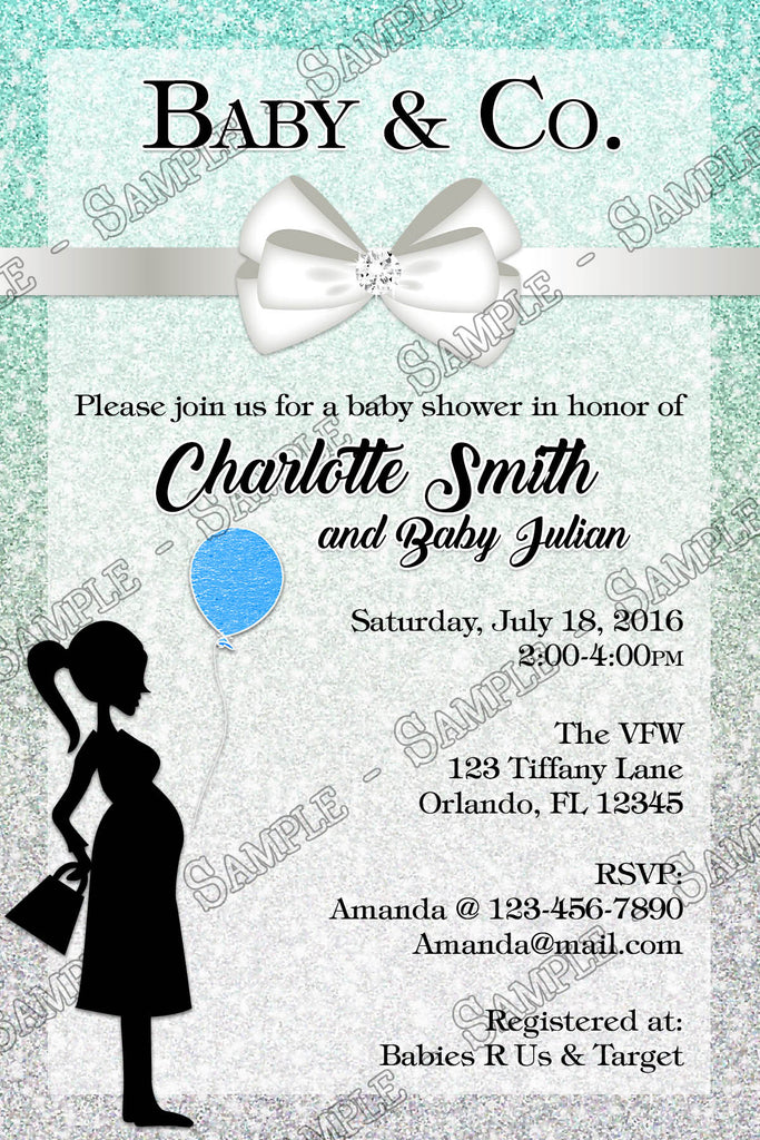 Novel Concept Designs - Tiffany & Co - Baby Boy - Baby Shower ...