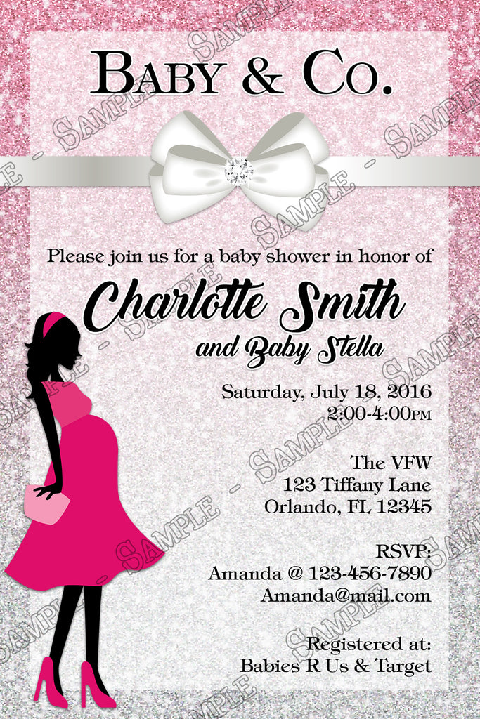 Novel Concept Designs - Tiffany & Co - Baby Girl - Baby Shower ...