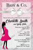 Tiffany & Co - Baby Girl - Baby Shower Invitations