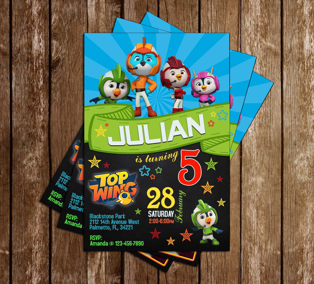Novel concept designs top wing nick jr chalkboard birthday top wing nick jr chalkboard birthday party invitations filmwisefo