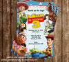 Disney Toy Story Movie Birthday Birthday Party Invitations