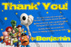 It's a Boy Story - Toy Story - Baby Shower - Thank You Card
