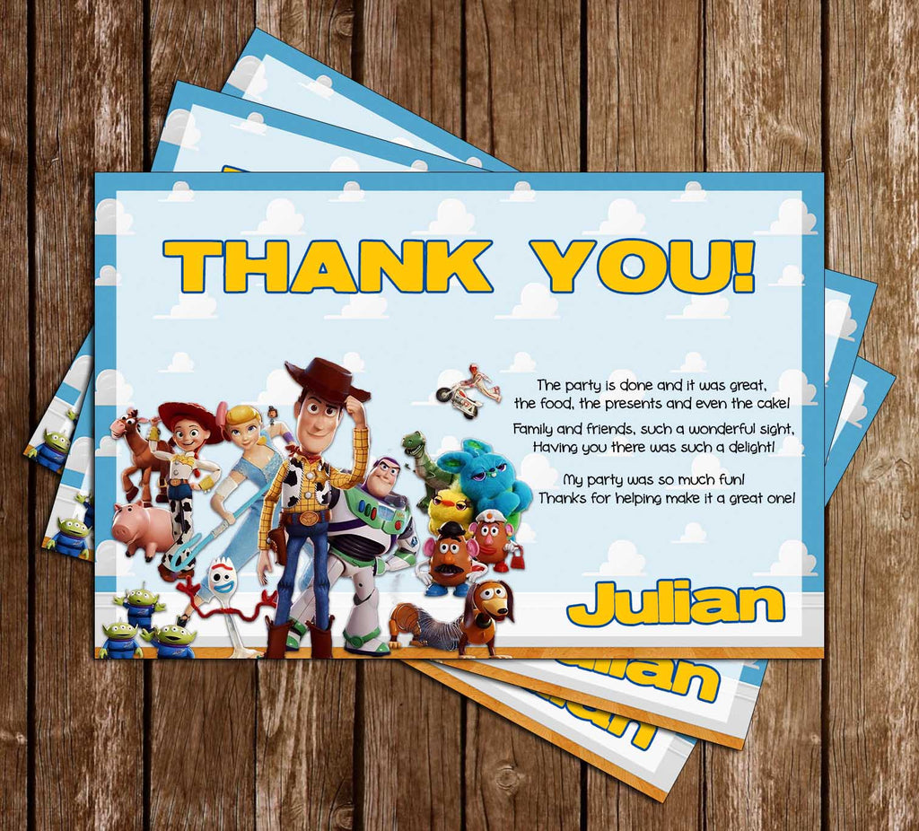 Toy Story High Quality Card Prints Various Designs