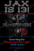 Transformers Movie - The Last Knight - Birthday Invitation