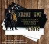 Star Trek Birthday Thank You Card (2 Designs)
