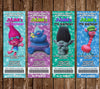 Troll Dolls - Trolls - Movie - Birthday Ticket Invitations