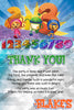 Team Umizoomi  - Numbers - Birthday Party - Thank You Card