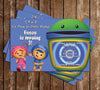 Team Umizoomi Show Birthday Invitation (Group)