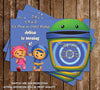 Team Umizoomi Birthday Invitation (Group)