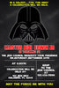 Star Wars - Darth Vader -  Birthday Party Invitation Printable