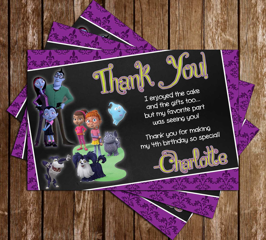 Vampirina   Birthday   Party   Ticket   Invitation