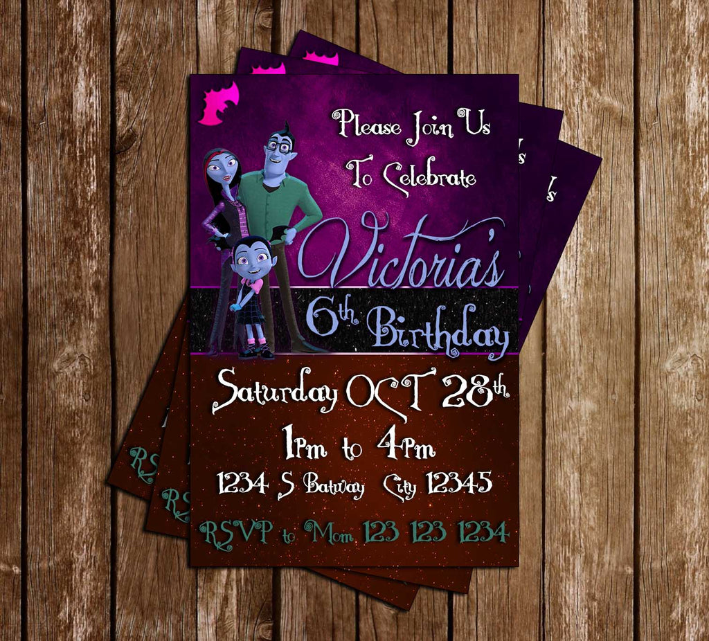 Vampirina   Nick Jr   Birthday Party   Invitation