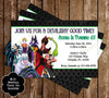 Disney's Evil Villains Birthday Party Ticket Invitation
