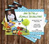 Disney Wallykazam Show Birthday Party Invitation with Photo